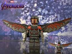 LEGO custom Falcon from Avengers: Endgame (Benson_Bone) Tags: lego custom minifigure avengers endgame sam wilson falcon anthony mackie