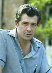 FXHJ1W (alisonlundy) Tags: london uk archive lewis collins mid 1980s his home with motorbike ref lmk11pip11lib281113 001