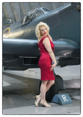 Marilyn (Harleycy3) Tags: pinupsfighters timelineevents girls aircraft ww11 beauty models posing
