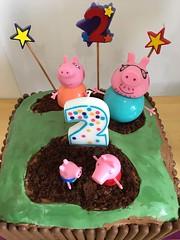 Peppa Pig Cake (RobW_) Tags: peppa pig birthday cake calvin canterbury kent england notmine saturday 15jun2019 june 2019
