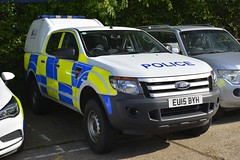 EU15 BYH (S11 AUN) Tags: essex police ford ranger pickup truck rural policing team incident response farm patrol traffic car rpu roads unit 999 emergency vehicle eu15byh