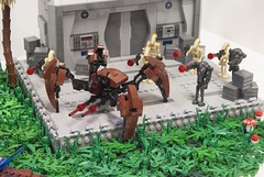 Separatists Crab Droid