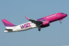HA-LWX (Andras Regos) Tags: aviation aircraft plane fly airport bud lhbp spotter spotting takeoff wizz wizzair airbus a320
