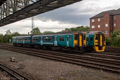 Transport for Wales 150123 & 158833 (Mike McNiven) Tags: transportforwales transport wales keliosamey chester railwaystation sidings stabled dmu diesel multipleunit