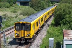 Merseyrail 508138 (Mike McNiven) Tags: merseyrail merseyside emu electric multipleunit bidston kirby westkirby liverpool liverpoolcentral sercoabellio 3rdrail