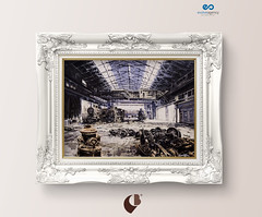 Frame on a wall (breracorniceria) Tags: baroque blank classic classical color concrete copyspace decor decorating decoration design designspace elegance elegant element frame framemockup hanging home house indoors interior luxurious luxury mockup one photo photoframe picture pictureframe poster psd retro room saltcreamwall style template victorian wall white