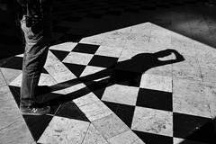 the photographer (Francisco (PortoPortugal)) Tags: 1122019 20190611fpbo9565 pretoebranco blackandwhite monochrome monocromático bw nb pb pessoas people rua street porto estaçãodesbento railwaystation shadows shapes
