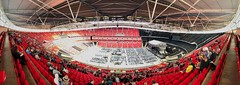 Wembley Stadium (Future-Echoes) Tags: 2019 audience concert crowds iphone london panorama red seats stadium wembleystadium