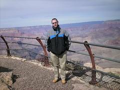 Img0454 (rugby#9) Tags: jacket boots coat sky america us usa arizona gorge rocks clouds cloud grandcanyon