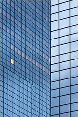 Rotterdam abstract (Rob Schop) Tags: abstract rotterdam nationalenederlanden glass lines blue tele zuidholland sony70200fe sonya6000 longexposure mcescher somethingdifferent