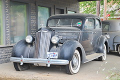 Packard 1936 in Hye TX 30.4.2019 0499 (orangevolvobusdriver4u) Tags: 2019 archiv2019 usa america amerika texas roadtrip hye hyetx car auto klassik classic oldtimer packard 1936
