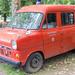 Retro-Feuerwehrwagen des Amtsfeuerwehr Weyerbusch ausgestellt in BaseCamp Bonn