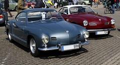 1959 + 1972 VW Karmann-Ghia Typ 14 (Toytone) Tags: 1959 1972 vw karmannghia typ 14