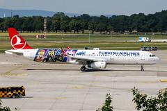 TC-JSU (PlanePixNase) Tags: aircraft airport planespotting haj eddv hannover langenhagen turkish turkishairlines a321 321 airbus lego