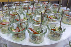 Tyrolean smoked sausage on apple and leek salad in small jars at the BarCamp in Bonn (verchmarco) Tags: bcko19 bcbn19 koblenz basecamp hostel bcbn20 barcamp bcko20 bonn glass glas food lebensmittel restaurant plate teller healthy gesund buffet catering gastronomie vegetable gemüse dish gericht dinner abendessen cutlery besteck salad salat dining essen refreshment erfrischung table tabelle meal mahlzeit drink getränk lunch mittagessen indoors drinnen appetizer vorspeise2019 2020 2021 2022 2023 2024 2025 2026 2027 2028 2029 2030 historic feet interior coth5 decoration colours spain eos village
