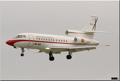 Falcon 900, gruppo 45, EdA (OlivierBo35) Tags: spotter spotting rennes lfrn rns falcon dassault falcon900 eda espagne