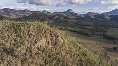 Trial By Fire (Grant Brodie Photography) Tags: warrumbungles nationalpark djiphantom4 australia grantbrodiecreativephotography