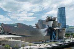 Museo Guggenheim Bilbao (g_heyde) Tags: museoguggenheimbilbao museum bilbaso basquecountry spain biscay frankogehry sl mamam