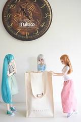 Miku, Yoshiko, Rin (Anna Lutego) Tags: smartdoll smartdollmirai miraisuenaga doll bjd handmade clothesmadebyme smartdollchitose chitoseshirasawa dd dollfiedream ddmiku dollfiedreammiku mikuhatsune volks japandoll