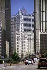 Wrigley Building (craigsanders429) Tags: chicago michiganavenue downtownchicago tallbuildings city cityscapes cityscenes urbanscenes urban streetscenes street wrigleybuilding
