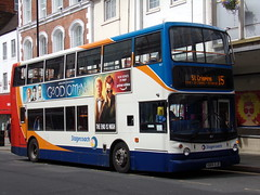 Stagecoach TransBus Trident (TransBus ALX400) 18127 KN04 XJB (Alex S. Transport Photography) Tags: bus outdoor road vehicle stagecoach stagecoachmidlandred stagecoachmidlands alx400 alexanderalx400 dennistrident transbustrident trident transbusalx400 route15 18127 kn04xjb