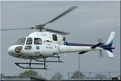 Aérospatiale AS-355N Ecureuil 2, F-GVTB (OlivierBo35) Tags: spotting spotter rns lfrn ecureuil samu chu medecin aerospatiale as355