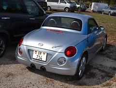 DAIHATSU Copen - 2002 (SASSAchris) Tags: daihatsu copen voiture japonaise 10000 10000toursducastellet tours ricard castellet circuit httt htttcircuitpaulricard htttcircuitducastellet cabriolet
