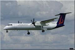 De Havilland Canada DHC-8-402Q, Brussel Airlines, G-ECOH (OlivierBo35) Tags: spotting spotter rns lfrn dehavilland dash8 brussel