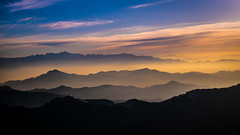 Druk Air Flight (The-Brown-Man) Tags: landscape morning sunrise mountains skyline mountainrange himalayas thehimalayanrange himalayanrange bhutan nepal india asia clouds fog nature