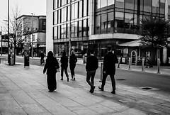 The Lady in Black (gwpics) Tags: female street uk women england woman lady muslim greatbritain streetphotography mono people southampton blackandwhite english analog analogue britain editorial everydaylife film hampshire hants islamic leica lifestyle monochrome person socialcomment socialdocumentary society streetscene streetphotos streetpics unitedkingdom bw blackwhite streetlife candid