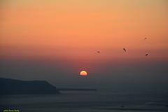 SANTORIN  : Sunset on Oia (francisaubry) Tags: greece grèce sunset oia santorin santorini nikon nikkor