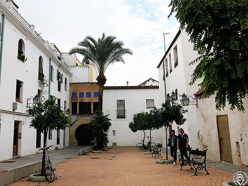 una plaza en Córdoba