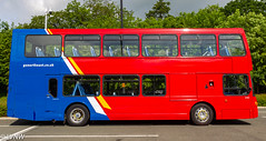 Go North Easy 6143 YN04GKA: Scania N94UD OmniDecker/East Lancs. Ex-Brighton & Hove 628. (LVNWtransFoto) Tags: bus coach durham northern goahead nebpt canoneos1dmkiv nebuses howlandspark rally gonortheast scania newlivery 6143 n94ud omnidecker yn04gka goaheadgroup 628 brightonhove eastlancs