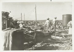 Uvero beach village aftermath of hurricane Kate, November 19 of 1985. Villa Clara Province, Cuba. (lezumbalaberenjena) Tags: uvero beach playa villa clara villas cuba huracan ciclon kate 1985 lezumbalaberenjena