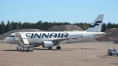 Finnair OH-LXF Airbus A320-214 flight AY1545 departure for Brussels BRU Belgium at Helsinki HEL Finland (Cupertino 707) Tags: finnair ohlxf airbus a321 helsinki hel finland a320214 flight ay1545 departure for brussels bru belgium