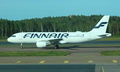 Finnair OH-LXA Airbus A320-214 flight AY1576 arrival from Paris CDG France at Helsinki HEL Finland (Cupertino 707) Tags: finnair ohlxa airbus a320214 flight ay1576 arrival from paris cdg france helsinki hel finland