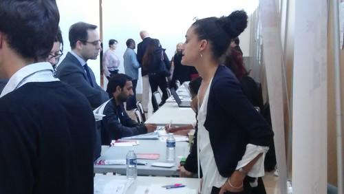 Au 6ème Forum de l'emploi, des métiers et de l'apprentissage à Montrouge