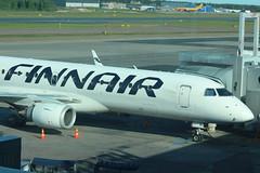 Finnair OH-LKI Embraer 195 flight AY315 departure for Vaasa Airport VAA Finland at Helsinki HEL Finland (Cupertino 707) Tags: finnair ohlki embraer 195 flight ay315 departure for vaasa airport vaa finland helsinki hel