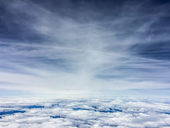 161/365 Above the Clouds (belincs) Tags: 365 oneaday 2019 canada june flight travel clouds 365the2019edition 3652019 day161365 10jun19