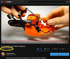 5.000.000 (hajdekr) Tags: chainsaw lego technic