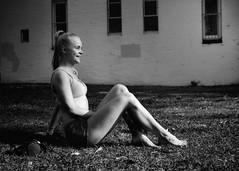 portrait in the park (gro57074@bigpond.net.au) Tags: naturallight f45 2470mmf28 tamron d850 nikon woman guyclift form tones shadows monochromatic monotone monochrome bw mono blackwhite posedportrait posed portraitinthepark