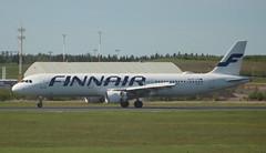 Finnair OH-LZE Airbus A321-211 flight AY1475 departure for Vienna VIE Austria at Helsinki HEL Finland (Cupertino 707) Tags: finnair ohlze airbus a321211 flight ay1475 departure for vienna vie austria helsinki hel finland