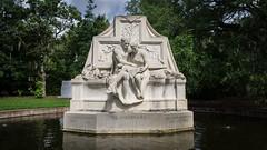 The Visionaries (BenBuildsLego) Tags: sculpture sculptor sculptures escultura statue skulptur sony a6000 brookgreen gardens anna hyatt huntington beautiful art museum pond