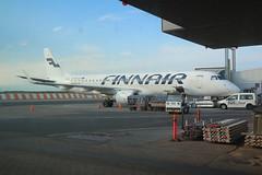 Finnair OH-LKH Embraer 190 flight AY1581 departure for Paris CDG France at Helsinki HEL Finland (Cupertino 707) Tags: finnair ohlkh embraer 190 flight ay1581 departure for paris cdg france helsinki hel finland