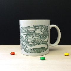 Crocodiles. (Kultur*) Tags: vintage vintagehousewares winng collectibles sanfrancisco taylorandng vintagecoffeemug taylorandngmugs vintagemugs animates crocodileorgy alligatororgy 1970smugs