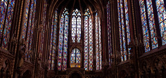 Sainte-Chapelle 2 (rubymalloy) Tags: sainte chapelle stained glass windows interior beautiful church tall light paris france architecture