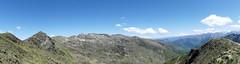 Panorama sur le pic des 3 seigneurs depuis les crêtes (François Magne) Tags: boucle pic 3 trois seigneurs pyrénées montagne rocher neige panorama minéral