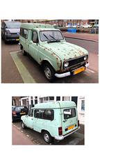 1982 Renault 4 F6 (FaceMePLS) Tags: denhaag nederland thenetherlands facemepls iphone8 straatfotografie streetphotography voiture voertuig auto car lkw bedrijfsauto bestelauto madeinfrance stationcar