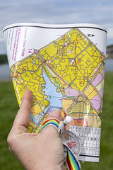 CV6T6620 (The Parks Trust) Tags: orienteering running walking furztonlake people maps map reading