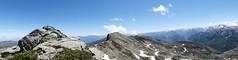 Panorama sur le pic des 3 Seigneurs (François Magne) Tags: boucle pic 3 trois seigneurs pyrénées montagne rocher neige panorama minéral